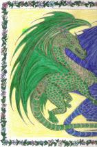 """Dragons at Play"" (left)"